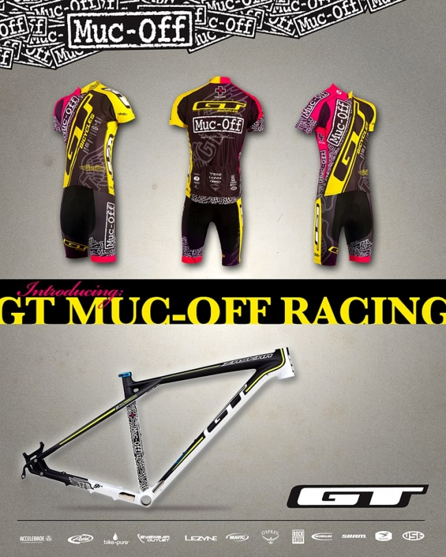 c2a955b89 Introducing the GT Muc-Off Mtb Race Team