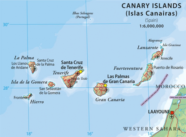 Canary Islands Weather December