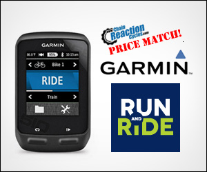 Garmin Ride Price Match