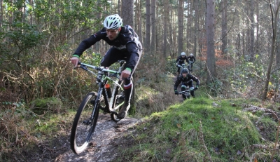 Testing the team Cannondale F29ers
