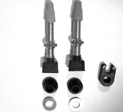 Effetto Caffe Tubeless Valves, Pair + Core remover