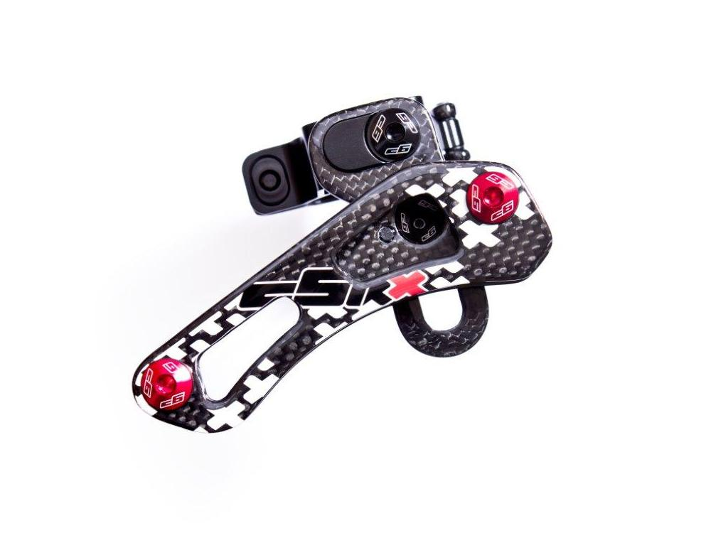 CSIXX XC SINGLE RING CARBON CHAIN GUIDE tube mount