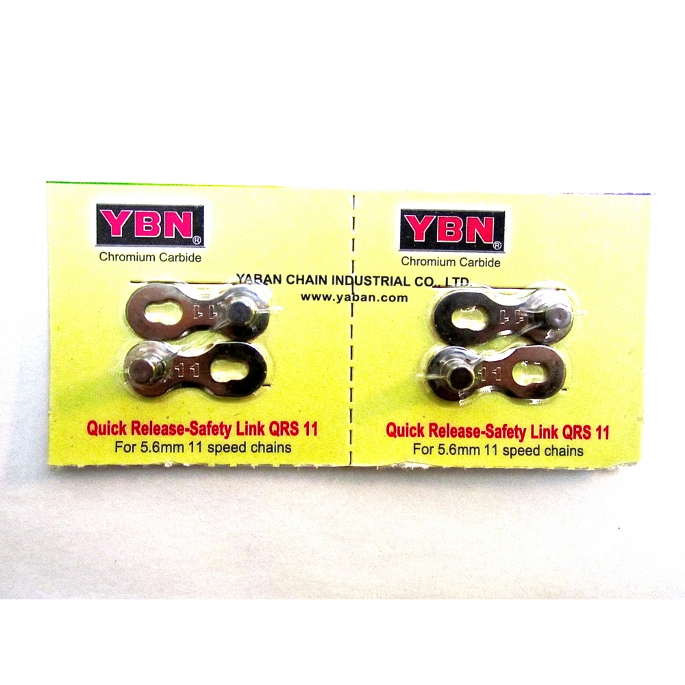 YBN 11 Speed Universal Quick links x2pairs