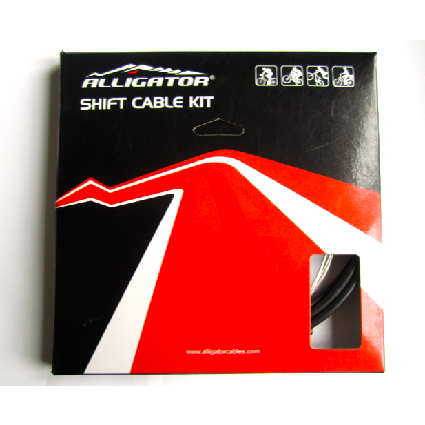 Alligator SUPER LIGHT Gear Cable kit