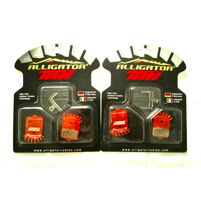 ALLIGATOR TURBO PADS AVID ELIXIR, SRAM XX XO