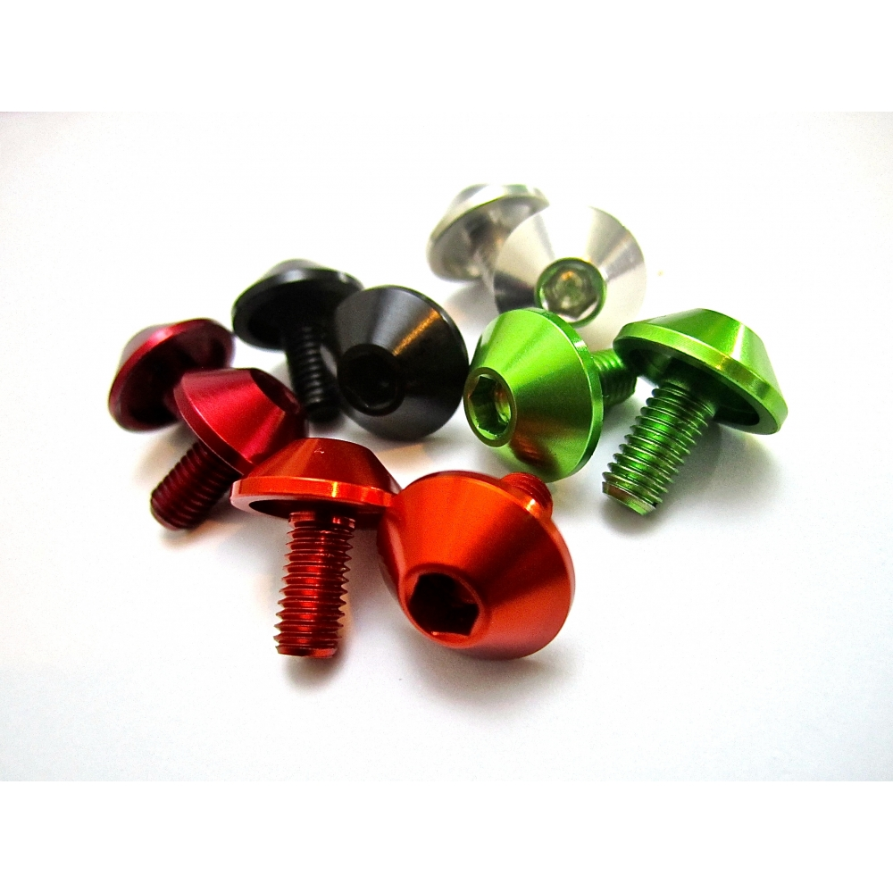 MT ZOOM SHROOM BOTTLE CAGE BOLTS X2  5 colours