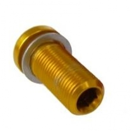 KCNC Alloy Gold Seat Clamp Bolt M8 x 18mm