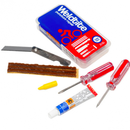 Weldtite Tubeless Patch Kit - external use