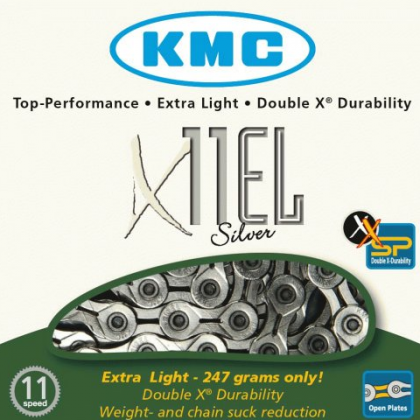 KMC X11-EL EXTRA LIGHT 11 Speed Chain 247g