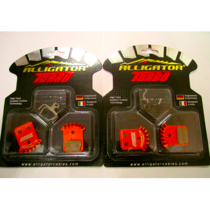 Alligator TURBO Pads Formula Mega/The 1/RX 2 pairs