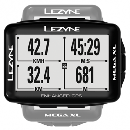Lezyne Mega XL GPS - 48hr run time