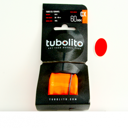 Tubolito Tubo CX/GRAVEL Tube 55g! +FREE patch