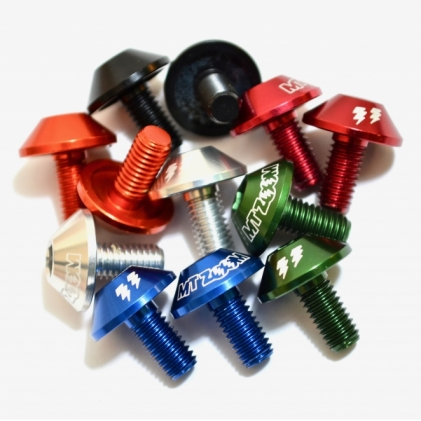 MT ZOOM SHROOM BOTTLE CAGE BOLTS X2  6 colours