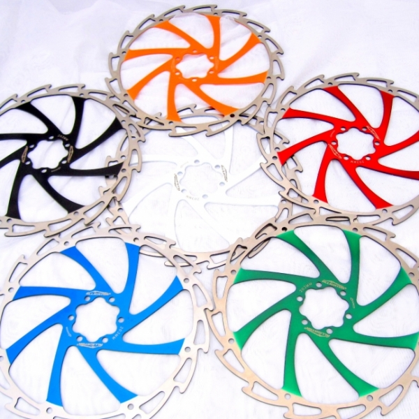 Alligator Windcutter Rotors 160mm 7 colours