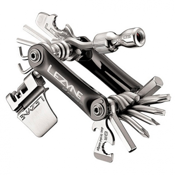 Lezyne Rap 21 Co2 Multitool - 21 functions