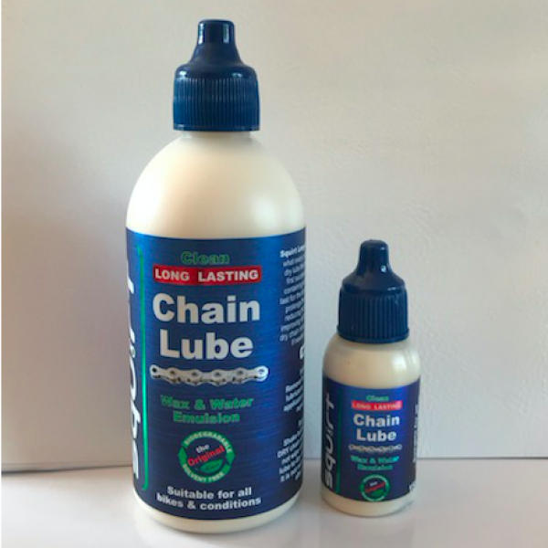 Squirt Chain Lube 120ml Free 15ml Bottle Only 163 10 99
