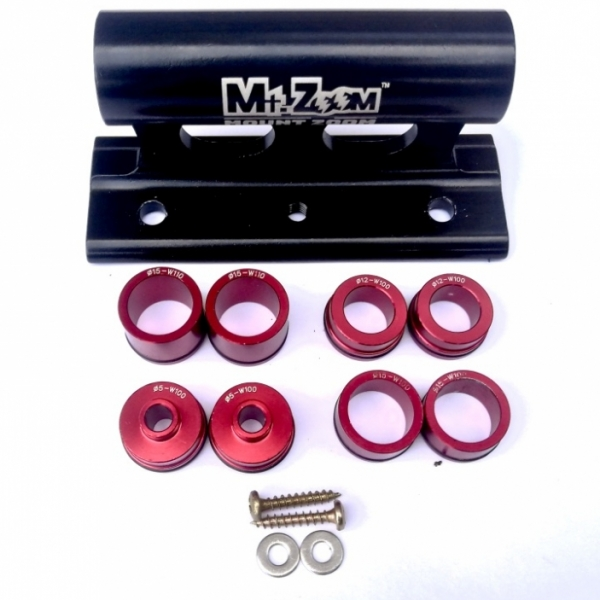 Mt Zoom Fork holder for car roof rack/van floor